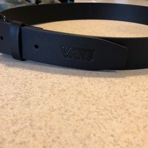 Men's Black Van's Belt